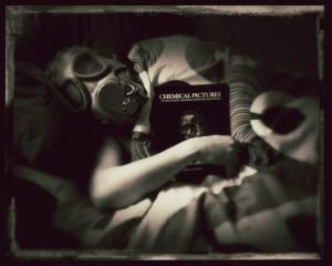 MGF gas mask photo iphone